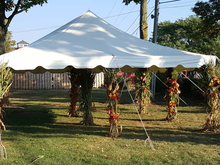 Snyder's Farm Parties & Groups - Outdoor Tent