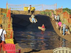 Snyders Farm Parties and Groups - Mulch Slide